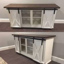 Entertainment Center Credenza Rustic Tv Stand 60 Inch Entertainment Center Sliding Barn Doors