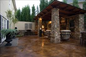 Concrete Patio Color Ideas by Stained Concrete Patio Exterior U2013 Outdoor Decorations