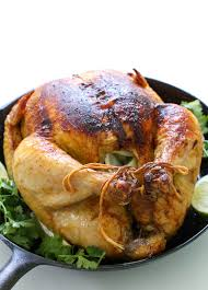 roasted whole chicken whole roasted mexican chicken with chipotle lime and cilantro