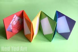 accordion photo album mini origami photo album accordion photo book ted s