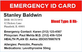medical emergency id cards quickidcard com blog