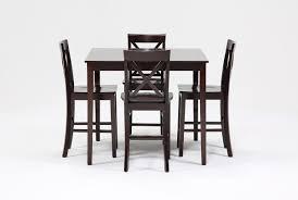 pierce 5 piece counter set living spaces