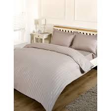 Silentnight Duvets Silentnight Satin Stripe Complete Bed Set King Bedding B U0026m
