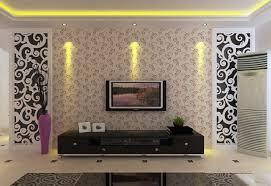 wallpaper yang bagus untuk rumah minimalis wallpaper dinding ruang tamu ornament hitam putih denah rumah