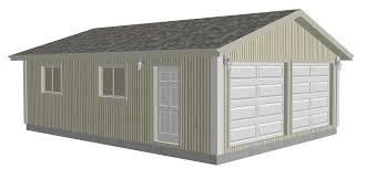 Large Garage Plans G529 22 X 30 X 8 Garage Plans Dwg And Pdf Rv Garage Plans