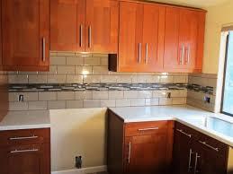 kitchen interior blue subway tiles cheap ideas for backsplashes in