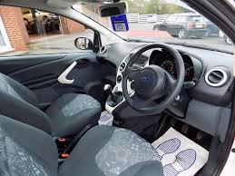ford ka 1 2 edge 3dr 69 bhp only 14 000 miles white 2014