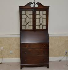 Antique Desk Secretary by Vintage Walnut Secretary Desk By Rockford Cabinet Company Ebth