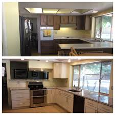 Kitchen Remodels Before And After Kitchen Remodel Before After Remodels For Ugly 70s Ranch Homes