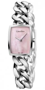 bracelet chain watches images Women 39 s calvin klein ck amaze chain bracelet watch k5d2s12e gif