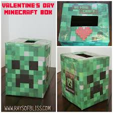 minecraft valentines easy minecraft creeper s day box and list of free