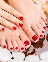 professional nails pedicure