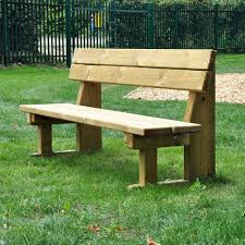park benches natural wooden park bench manufactured from hand selected machined