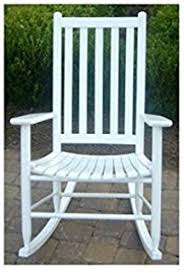 Unfinished Wood Rocking Chair Amazon Com International Concepts Solid Wood Porch Rocker Chair