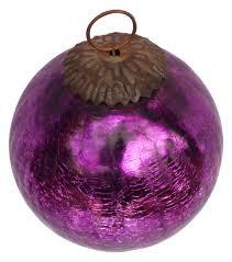 ornament hand blown christmas tree decoration ball u2013 magenta