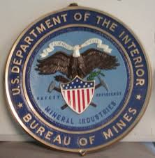 united states department of the interior bureau of indian affairs department of interior bureau of mines wall seal from dondero