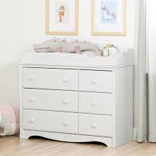 south shore angel 6 drawer pure white changing table 10208 the