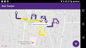 tntech bus tracker android apps on google play