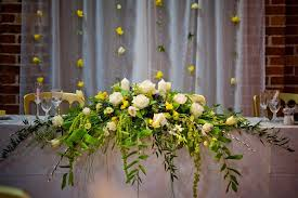 flower arrangements for weddings top table arrangements