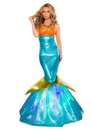 mermaid tails for halloween aquarius mermaid costume