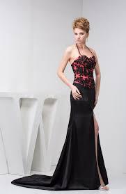 black evening dress long glamorous allure pretty modern