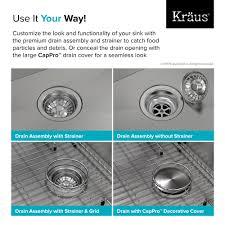 Overmount Kitchen Sinks Stainless Steel by Stainless Steel Kitchen Sinks Kraususa Com