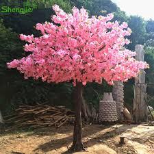 factory sale 11ft artificial silk cherry blossom tree wedding
