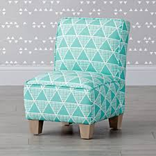 Turquoise Armchair Kids Chairs The Land Of Nod