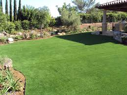 backyard putting green installation home outdoor decoration