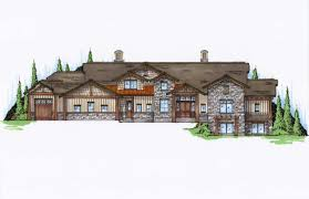 5 bedroom craftsman luxury house plans home design 135 1036