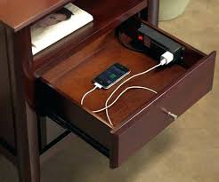 ikea charging station nightstand with charging station medium size of groovy nightstands