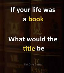 Book Memes - dopl3r com memes if your life was a book what would the title be