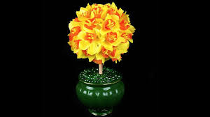 Lighted Topiary Trees Gorgeous Daffodil Topiary Tree Simple And Cheap To Make