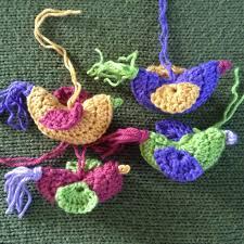 free crochet pattern ornithology bird ornament nicola knits