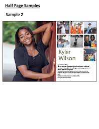 senior yearbook ad templates mauldin high school yearbook senior pages