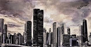 jjcd chicago skyline process jefferyj com fine art design