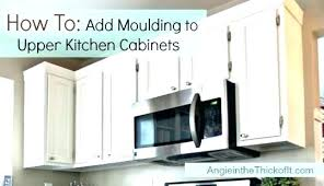 ideas to update kitchen cabinets molding for cabinet doors cabinet moulding kitchen cabinets