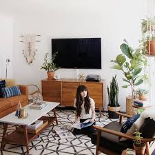 The  Best Living Room Vintage Ideas On Pinterest Mid Century - Decorated living rooms photos