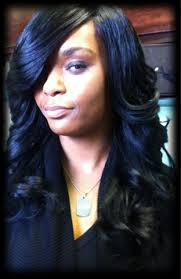 full sew in weave with no hair out natural looking sew in tape in braidless fusion micro beads