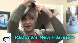 radona hair cut video as requested how radona styles her new hairstyle youtube