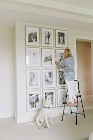 how high to hang art pictures on stairs picture frame layout app stair design with
