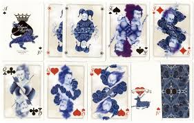 uusi blue blood the world of playing cards