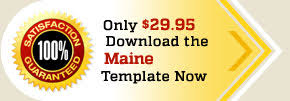 maine employee handbook template for policy manuals