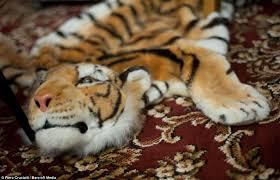 animal rug with head roselawnlutheran