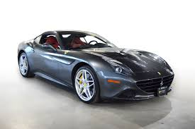 Ferrari California Gray - 2016 ferrari california t n0671a only certified ferrari