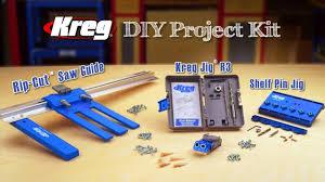 Diy Kit by Kreg Diy Project Kit Youtube