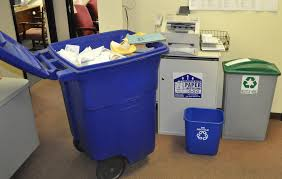 Waste Paper Bins Recycle Bins Collection Recyclable Materials