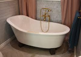 graceful as wells as freestanding reversible drain bathtub also