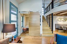 First Home Renovation Floating Staircase by Enjoy The City Life At Sea In This Eastlake Floating Home Curbed