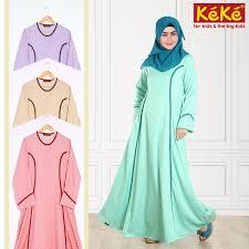 Baju Muslim Dewasa Ukuran Kecil baju gamis